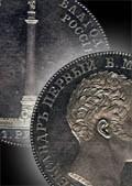 Медаль Московского нумизматического общества, посвященная 170-летию начала чекана памятных монет в России