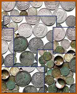 Найден клад серебряных монет XVIII – начала XX вв
